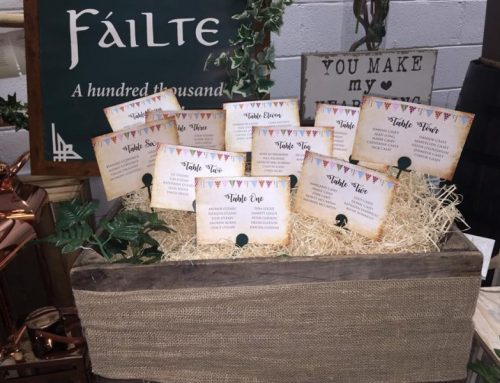 Table Seating Plan Displays