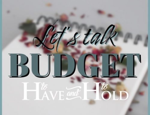 Let's Talk Wedding Budgets!