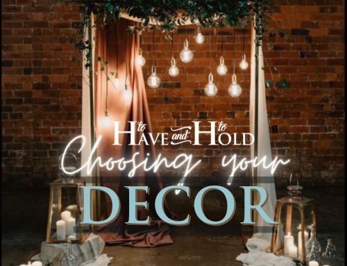 The Importance of Wedding Decor!