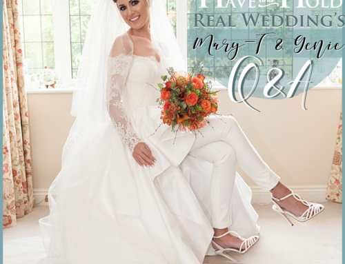 Real Wedding's Q&A – Mary-T & Genie Griffin